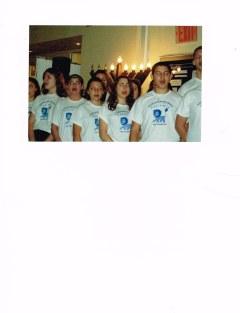 Choir at Chanukah Celebration