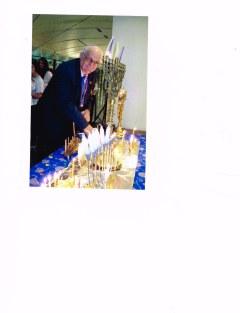 mel benison at chanukah celebratioan 2015